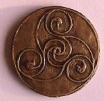 Bann Disc Celtic Brooch Ireland